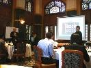 Đoàn công tác của ĐHQG-HCM học tập kinh nghiệm đảm bảo chất lượng và tham dự tập huấn đánh giá viên tại Thái Lan