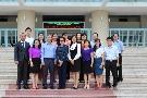 Tiếp đoàn nguyên cứu sinh ngành Quản lý Giáo dục, trường Đại học Mahidol, Thái Lan